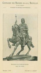 Compagnie des Bronzes_Bronzes Monumentaux_v1920_Page 21_Baudouin de Constantinople – Ville de Mons