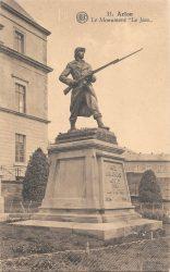 """Le """"Jass"""" – monument aux morts – Arlon"""
