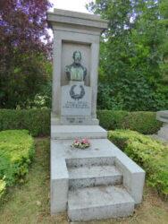 Monument funéraire d'Achille Jonas – cimetière – Anderlecht