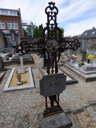 Croix funéraire – cimetière – Anhée (5)