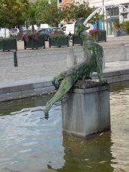 Chimère – Fontaine Anspach – Bruxelles (3)