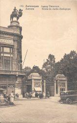 Chameau et chamelier – Jardin zoologique – Antwerpen (Anvers)