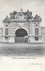 Boduognat et Ambiorix – Porte du Chemin de Fer – Antwerpen (Anvers) (ensemble disparu)
