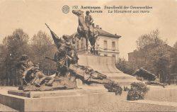 Monument aux morts – Antwerpen (Anvers)
