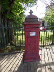 Borne postale – Rue Francq – Arlon