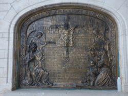 Bas-relief – église St-Martin – Asse