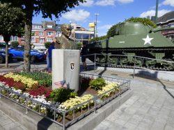Monument au Général Mc Auliffe – Bastogne