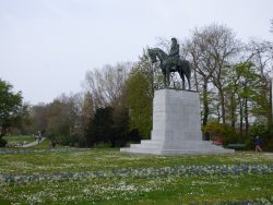 Statue équestre du Roi Albert Ier – Brugge (Bruges)