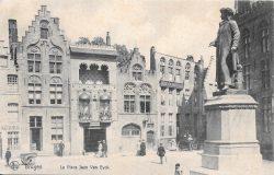 Monument à Jan Van Eyck – Brugge (Bruges)