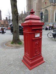 Borne postale – Gruuthusestraat – Brugge (Bruges)