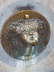 Mascaron de fontaine – Brugge (Bruges)