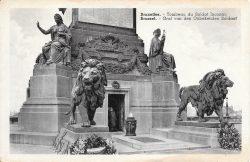 Lions (2) – Colonne du Congrès – Bruxelles