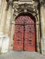Portes – église Saint-Jean-Baptiste au Béguinage – Bruxelles