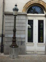 Réverbères (2) – Rue du Grand Hospice – Bruxelles