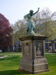 Caïn Maudit – Jardin du Palais des Académies – Bruxelles
