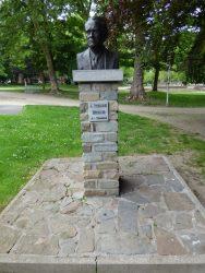 Buste de Pierre Paulus – Parc Reine Astrid – Charleroi