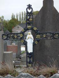 Croix funéraire – Cimetière – Chimay (2)
