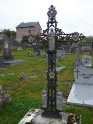 Croix funéraire – cimetière – Chimay (3)