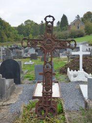 Croix funéraire – cimetière – Chimay (7)