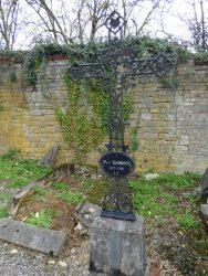 Croix funéraire – cimetière – Chimay (6)