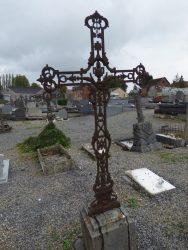 Croix funéraire – cimetière – Chimay (4)