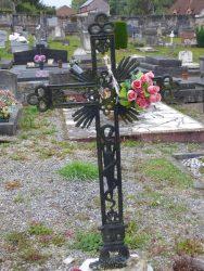 Croix funéraire – cimetière – Chimay (5)