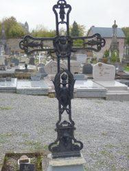 Croix funéraire – Cimetière – Chimay (1)