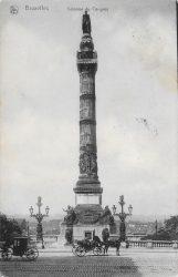 Statue du roi Léopold Ier – Colonne du Congrès – Bruxelles