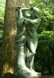 Eve et le serpent – Parc Josaphat – Schaerbeek