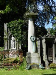 Monument funéraire d'Edouard Bauwens – cimetière de Bruxelles – Evere