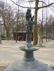 Fillette à la coquille – Parc Royal – Bruxelles
