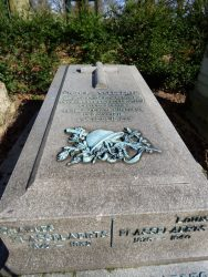 Tombe Edgard Flasselaerts – cimetière de Bruxelles – Evere