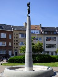 Fontaine-colonne – Prof. Mac Leodplein – Oostende (Ostende)