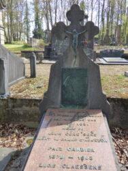 Tombe Louis Claessens – cimetière de Forest à Alsemberg