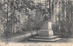L'ange noir – Parc Duden – Forest (disparu)