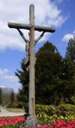 Christ en croix – cimetière de Forest à Alsemberg