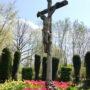 Christ en croix - cimetière de Forest à Alsemberg - Image2