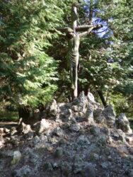 Christ en croix – cimetière – Ganshoren