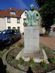 Buste d'Auguste Lannoye – Place des Trois Tilleuls – Genval