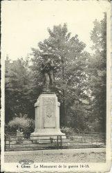 Monument aux morts – Glons (Bassenge)