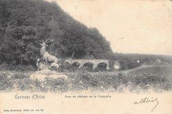 Harde de cerfs écoutant le rapproché – Château de la Trapperie – Habay-la-Vieille