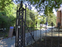 Portail de la maison du Jardinier – Château Le Paige – Herentals
