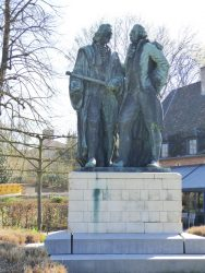 Monument à Jan Pieter Minckelers et au duc Louis-Engelbert d'Arenberg – Heverlee