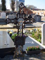 Croix funéraire – cimetière – Heverlee (3)