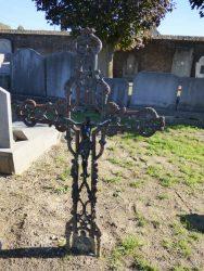 Croix funéraire – cimetière – Humbeek (Grimbergen) (1)