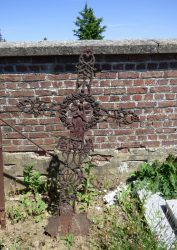 Croix funéraire – cimetière – Huppaye (Ramillies) (3)
