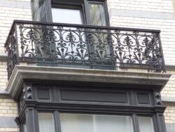 Balcons – rue de l'Aurore – Ixelles