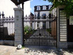 Grille – rue Malibran – Ixelles
