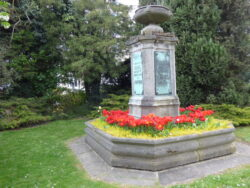 Monument-fontaine au capitaine Louis Crespel – Ixelles