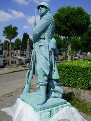 Soldat – Cimetière – Pelouse d'honneur – Ixelles (2)
